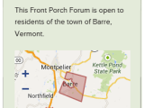 Front Porch Forum – Barre