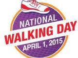 Wednesday is National Walking Day