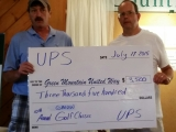 UPS Holds 10th Green Mountain United Way GolfClassic